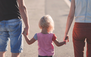 Separation can be incredibly difficult for children to handle