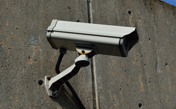 Setting up a fake CCTV camera can be a successful deterrent