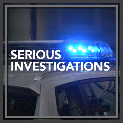 Smaller Serious Investigations Image